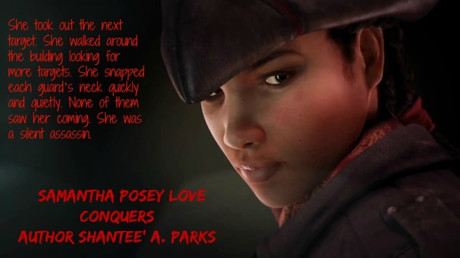 Shantee A Parks - Samantha Posey Love Conquers Teaser (ESM)